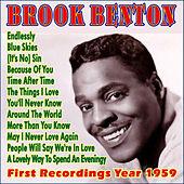 First Recordings Year 1959 by Brook Benton