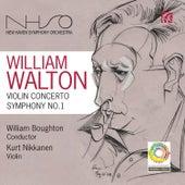 Walton: Violin Concerto & Symphony No. 1 by New Haven Symphony Orchestra