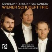 Chausson, Debussy & Rachmaninoff: Piano Trios by Wiener Schubert Trio
