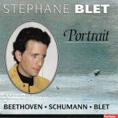 Beethoven, Schumann, Blet (Portrait) by Stéphane Blet