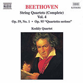 String Quartets (Complete) Vol. 4 by Ludwig van Beethoven