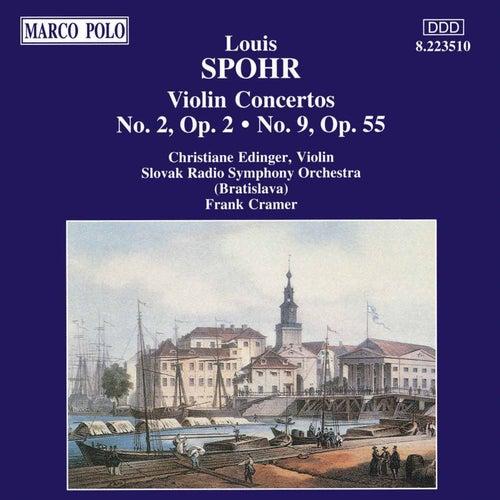 Violin Concertos Nos. 2 and 9 by Louis Spohr