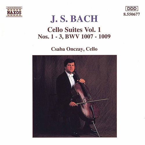 Cello Suites Vol. 1 by Johann Sebastian Bach
