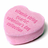 The String Quartet Tribute to Valentine's Day de Vitamin String Quartet
