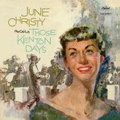 June Christy Recalls Those Kenton Days by June Christy