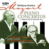 Wolfgang Amadeus Mozart: Piano Concertos No. 21 in C major, KV 467 & No. 24 in C minor, KV 491 de Rafael Kubelik Clifford Curzon