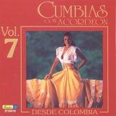 Cumbias Con Acordeón Desde Colombia, Vol. 7 by Various Artists