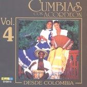 Cumbias Con Acordeón Desde Colombia, Vol. 4 by Various Artists