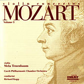 Mozart Violin Concertos-Vol. 3 by Czech Philharmonic Orchestra