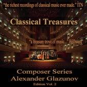 Classical Treasures Composer Series: Alexander Glazunov, Vol. 2 by Various Artists