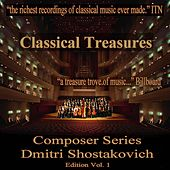 Classical Treasures Composer Series: Dmitry Shostakovich Edition, Vol. 1 by Various Artists