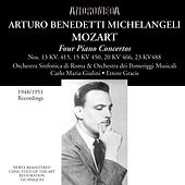 Mozart: Piano Concertos - Brahms: 28 Variations on a Theme by Paganini de Arturo Benedetti Michelangeli