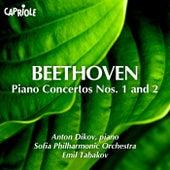 Beethoven: Piano Concertos Nos. 1 & 2 by Anton Dikov