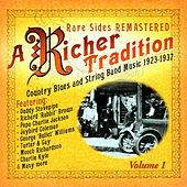 A Richer Tradition - Blues+String Band 1923-1937 Vol.1 de Various Artists