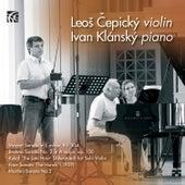 Čepický & Klánský: Works for Violin and Piano von Ivan Klánský