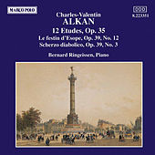 Etudes Op. 35 and Op. 39, Nos. 3 and 12 by Charles-Valentin Alkan
