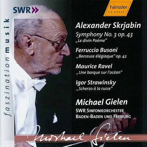 Alexander Skrjabin: Symphony No. 3 'Le divin Poème' a. o. by Sinfonieorchester Baden-Baden und Freiburg