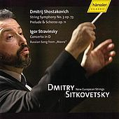 Strring Symphony No. 3 op. 73, Prelude & Scherzo op. 11, Concerto in D, Russian Song from