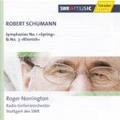 Schumann: Symphonies Nos. 1 and 3 by Radio-Sinfonieorchester Stuttgart des SWR