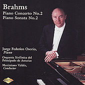 BRAHMS: Piano Concerto No. 2 / Piano Sonata No. 2 by Various Artists