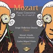 MOZART: Piano Concertos Nos. 14, 23, 25 by Jorge Federico Osorio