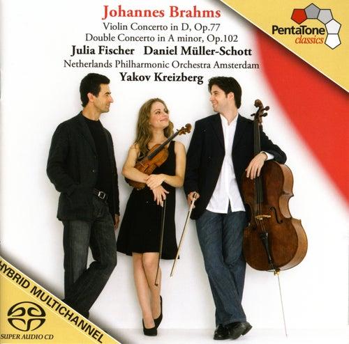 BRAHMS: Violin Concerto / Double Concerto by Julia Fischer