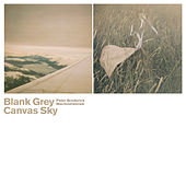 Blank Grey Canvas Sky by Peter Broderick