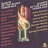 Giants Of The Blues Tenor Sax/Funk Tenor Sax by Various Artists
