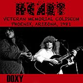 Veterans Memorial Coliseum Phoenix, Arizona, 1981 (Doxy Collection, Remastered, Live on Fm Broadcasting) de Heart