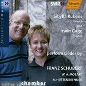 F. Schubert, W. A. Mozart, A. Hüttenbrenner: Lieder by Sibylla Rubens