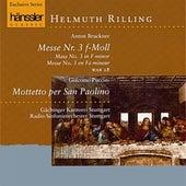 Bruckner / Puccini: Messe Nr. 3 f-Moll / Mottetto Per San Paolino by Gachinger Kantorei Stuttgart