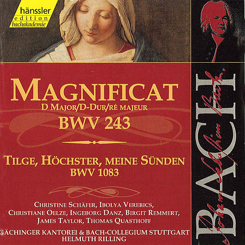 The Complete Bach Edition Vol. 73: Magnificat in D Major BWV 243 etc. by Bach-Collegium Stuttgart