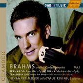 Brahms / Fuchs / Zemlinsky: Cello Sonatas de Johannes Moser