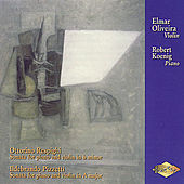RESPIGHI / PIZZETTI: Violin Sonatas by Robert Koenig