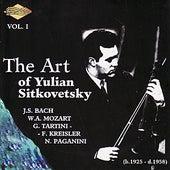 SITKOVETSKY, Yulian: Art of Yulian Sitkovetsky (The), Vol. 1 by Various Artists