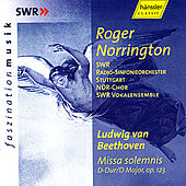 Ludwig van Beethoven: Missa Solemnis op. 123 by SWR Radio-Sinfonieorchester Stuttgart