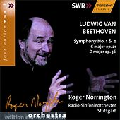 Beethoven: Symphonies Nos. 1 and  2 by SWR Radio-Sinfonieorchester Stuttgart