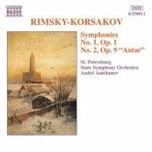Symphonies Nos. 1 and 2 by Nikolai Rimsky-Korsakov