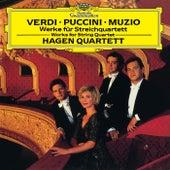Verdi / Puccini / Muzio: Works For String Quartet by Hagen Quartett