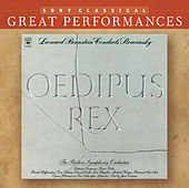 Stravinsky: Oedipus Rex; Symphony of Psalms [Great Performances] by Leonard Bernstein