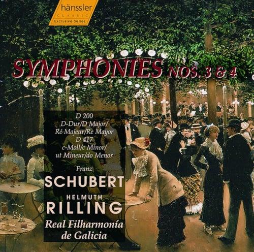 Symphonies Nos. 3 & 4 by Franz Schubert