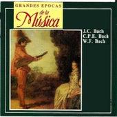 Grandes epocas de la Música: J.C. Bach, C.P.E. Bach, W.F. Bach von Various Artists