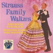 Strauss Family Waltzes von Boston Pops Orchestra