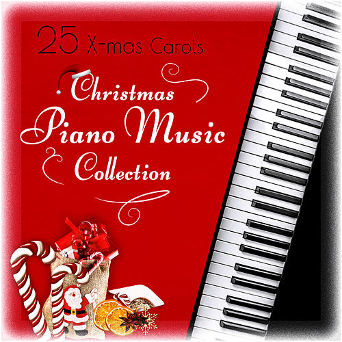 25 xmas carols the best christmas piano collection traditional music and beautiful songs for