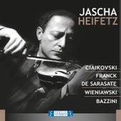Ciaikovski Franck de Sarasate Wieniawski Bazzini de Jascha Heifetz
