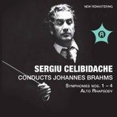 Brahms: Symphonies Nos. 1-4 & Alto Rhapsody, Op. 53 von Various Artists