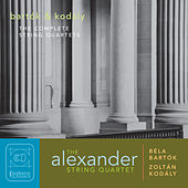 Bartók & Kodály: The Complete String Quartets by Alexander String Quartet