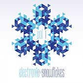 Electronic Snowflakes, Vol. 1 by Various Artists