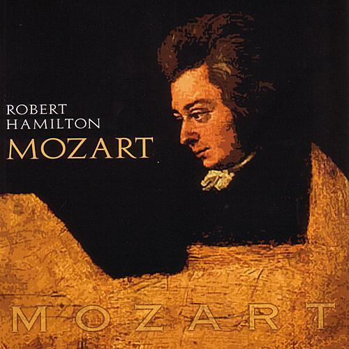 Mozart by Robert Hamilton