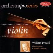Orchestral Excerpts for Violin by William Preucil
